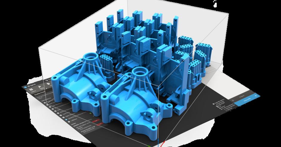 3D Sprint 플라스틱 적층 제조 소프트웨어